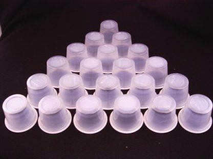 Plastic Shot Glasses 50pk (Vodka Jellies)