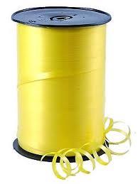 Curling Ribbon Yellow 91M