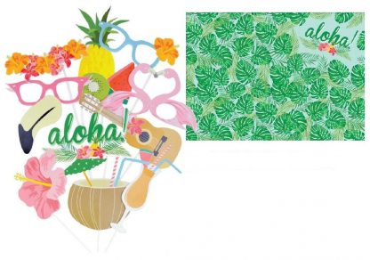 Aloha Photo Booth Props