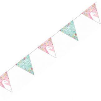 Unicorn Party Happy Birthday Bunting 1.9m