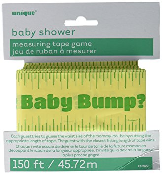 Baby Shower Game - Measuring Tummy Tape