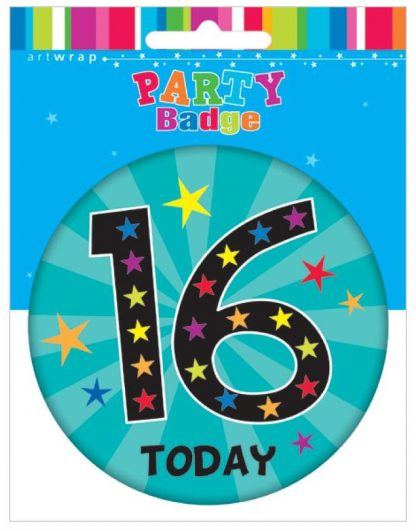 Badge Large 16 Today