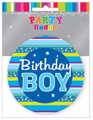 Badge Large Birthday Boy