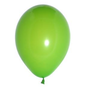 Balloon Single Standard Lime Green