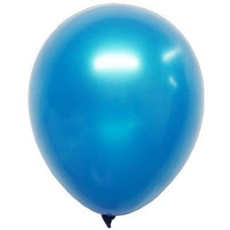 Balloon Single Metallic Blue