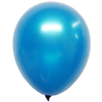 Balloon Single Metallic Blue