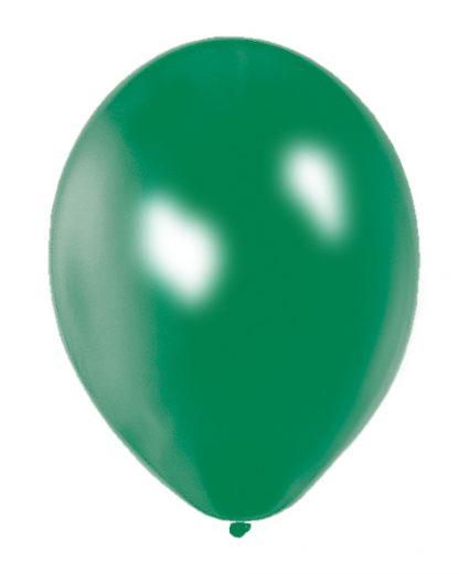 Quality Balloons 25pk, Metallic Green