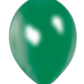 Balloon Single Metallic Green