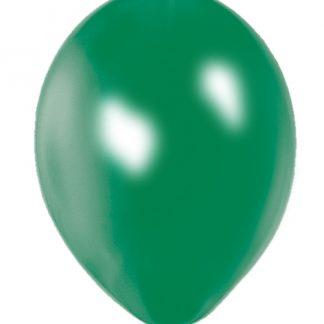 Quality Balloons 100pk, Metallic Green