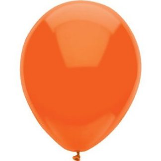Balloon Single Standard Orange