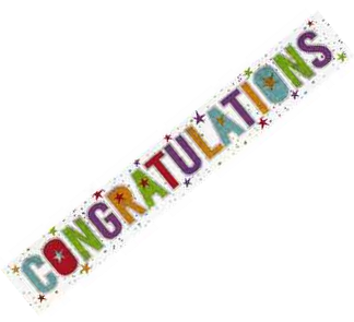 Banner Congratulations