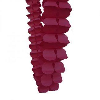 Honeycomb Garland 4m - Berry