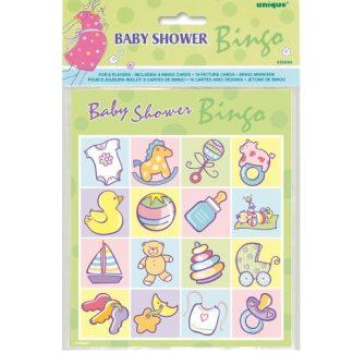 Baby Shower Bingo 8pk