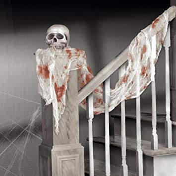 Halloween Bloody Gauze Draping