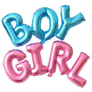 """Foil Balloon Banner Blue """"BOY"""" *air fill only"""