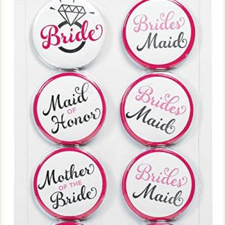 Bride To Be Buttons 8pk