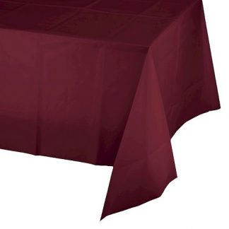 Table Cover Rectangle - Burgundy