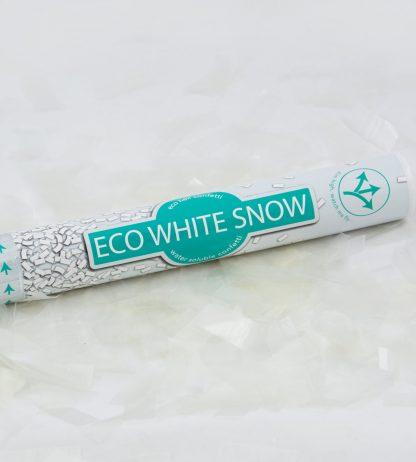 Confetti Cannon Eco - White