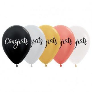 Balloon Single Congrats