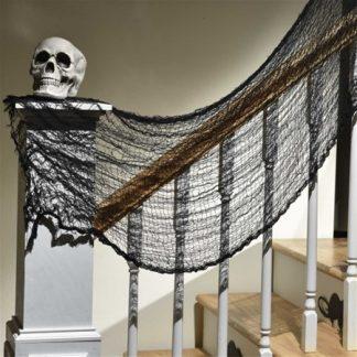 Halloween Creepy Black Cloth