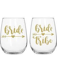 Bachelorette Tattoos/Glass Decal - 7 piece Silver