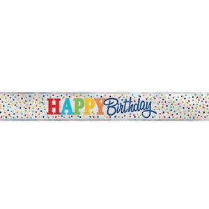 Banner Happy Birthday - Dots
