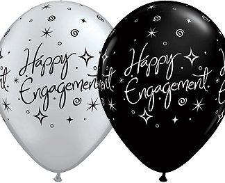 Balloon Single Happy Engagement Stars