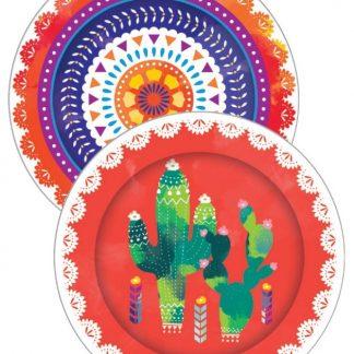 Fiesta Paper Plates 8pk