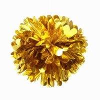 Foil Pom Pom 25cm - Metallic Gold