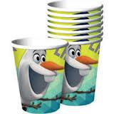 Frozen Olaf Cups 8PK