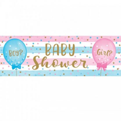 Large Baby Shower Banner