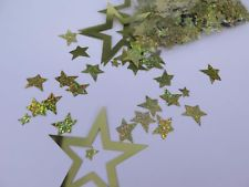 Scatter Confetti Star Large & Med Gold