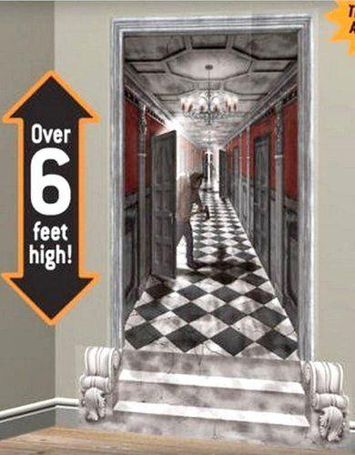 Halloween - Gothic Mansion Hallway