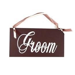 Groom - Wooden Sign