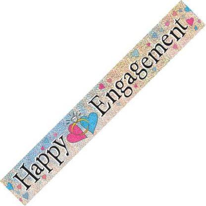Banner Happy Engagement Prismatic