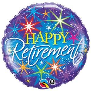 "Foil Balloon 18"" Happy Retirement"