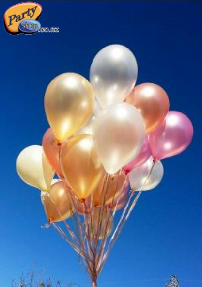 Helium Balloons (Latex)
