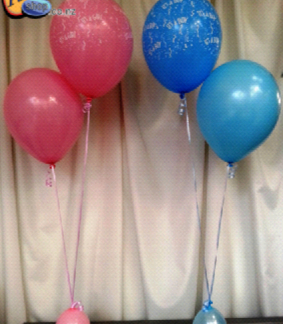 Helium Balloon Sets - Bunch of 2