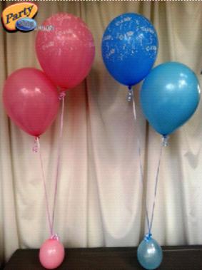 Helium Balloon Sets - Bunch of 2