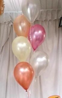 Helium Balloon Sets - Bunch of 6