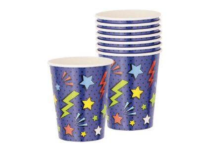 Superhero Party Cups 8pk
