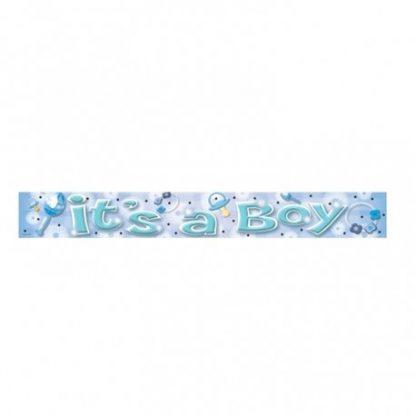 "'It's a Boy"" Banner"