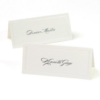 Place Cards 50pk - Pearlized Ivory