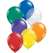 Balloon Single Happy Birthday Jewel Assorted
