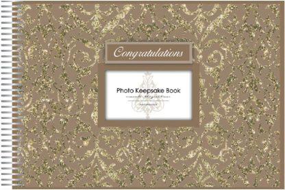 Keepsake Book Congratulations Gold