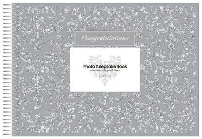 Keepsake Book Congratulations Silver