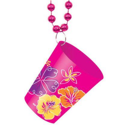 Luau Shot Glass Necklace