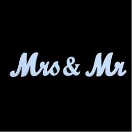 Mr & Mrs - Wooden Sign