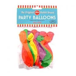 Party Balloons 12pk Neon