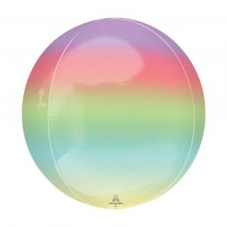 "Balloon Orbz 16"" Ombre Rainbow"